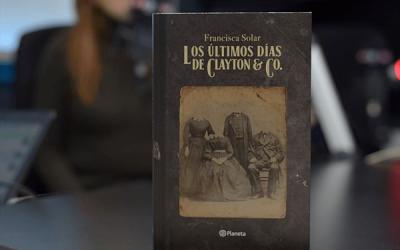 """""""Los últimos días de Clayton&Co."""": La terrorífica novela de Francisca Solar sobre una tradición perdida en la historia"""