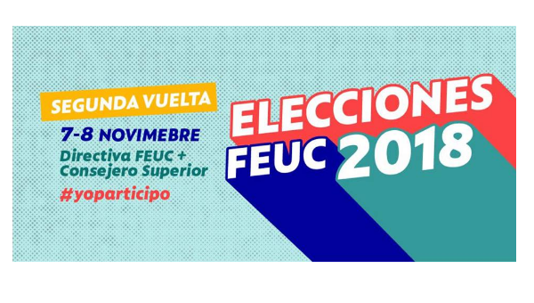 Transmisión especial segunda vuelta #EleccionesFEUC2018