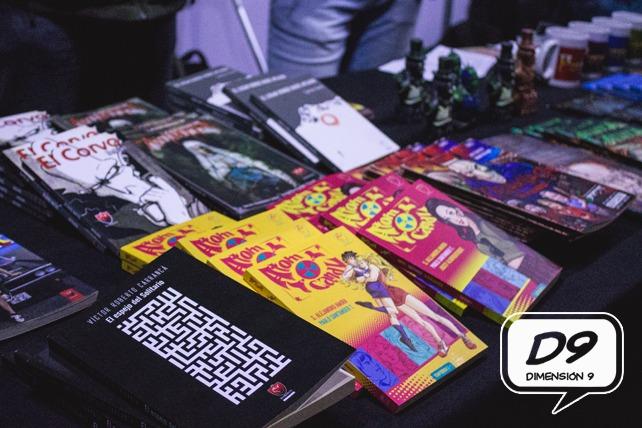 El cómic y la ilustración chilena se tomaron la Comic Con 2017