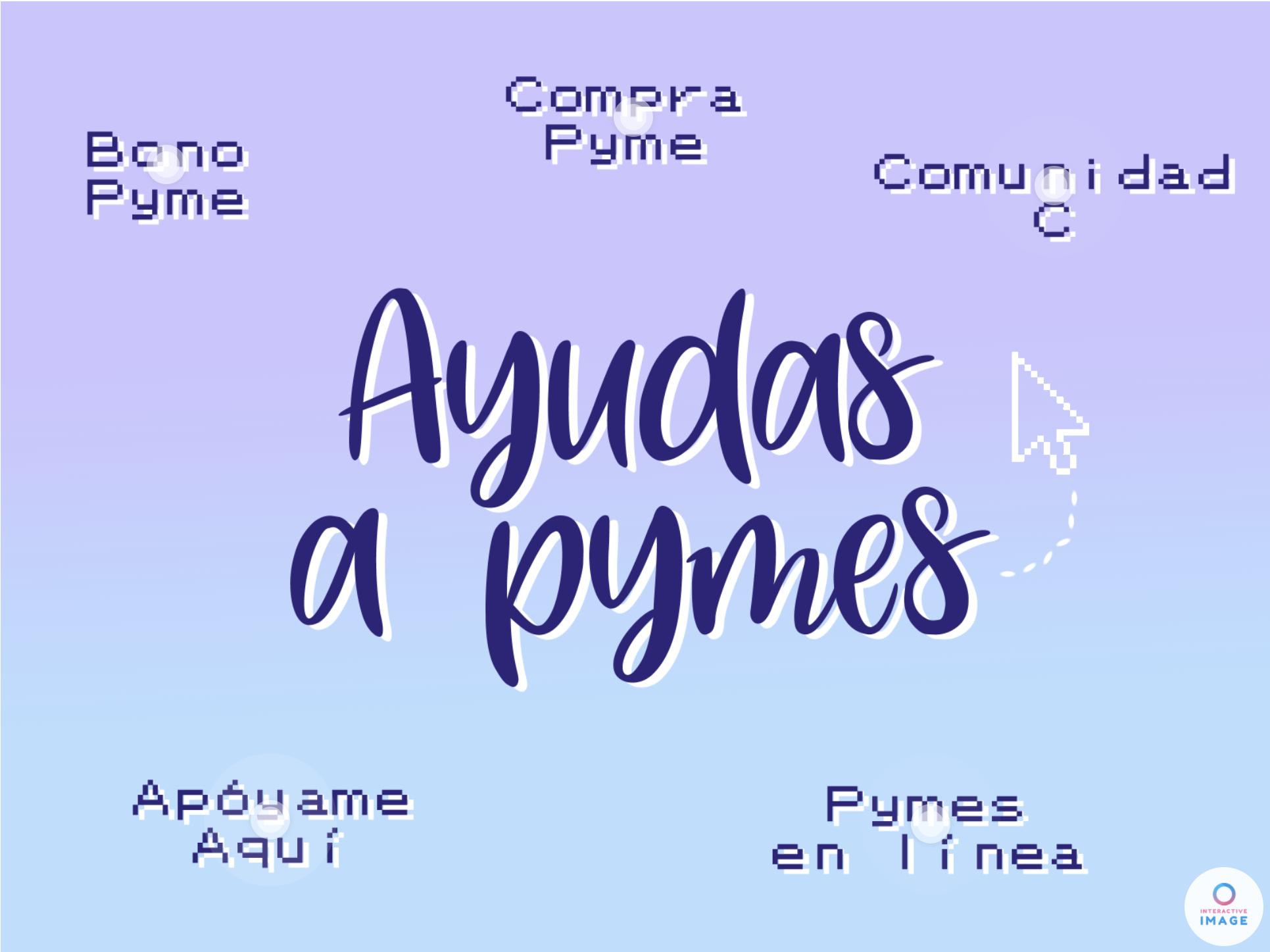 Ayuda a pymes, imagen que lleva a link con más información
