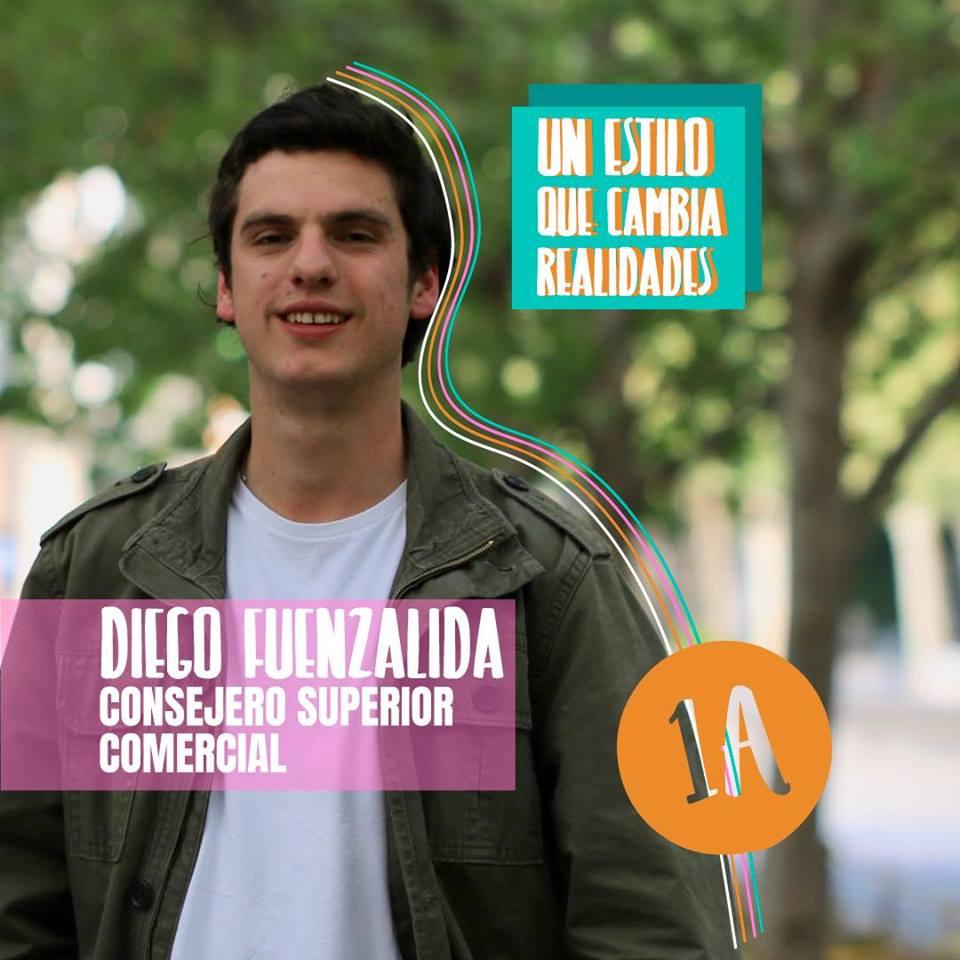 Consejería Superior: Diego Fuenzalida, por el Movimiento Gremial