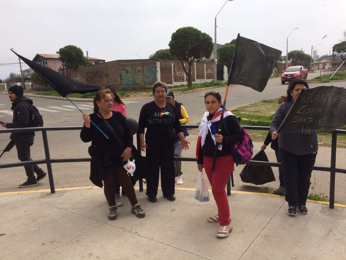 Estado crítico en Puchuncaví y Quintero: La jornada culminó con enfrentamientos violentos entre los vecinos y Fuerzas Especiales.