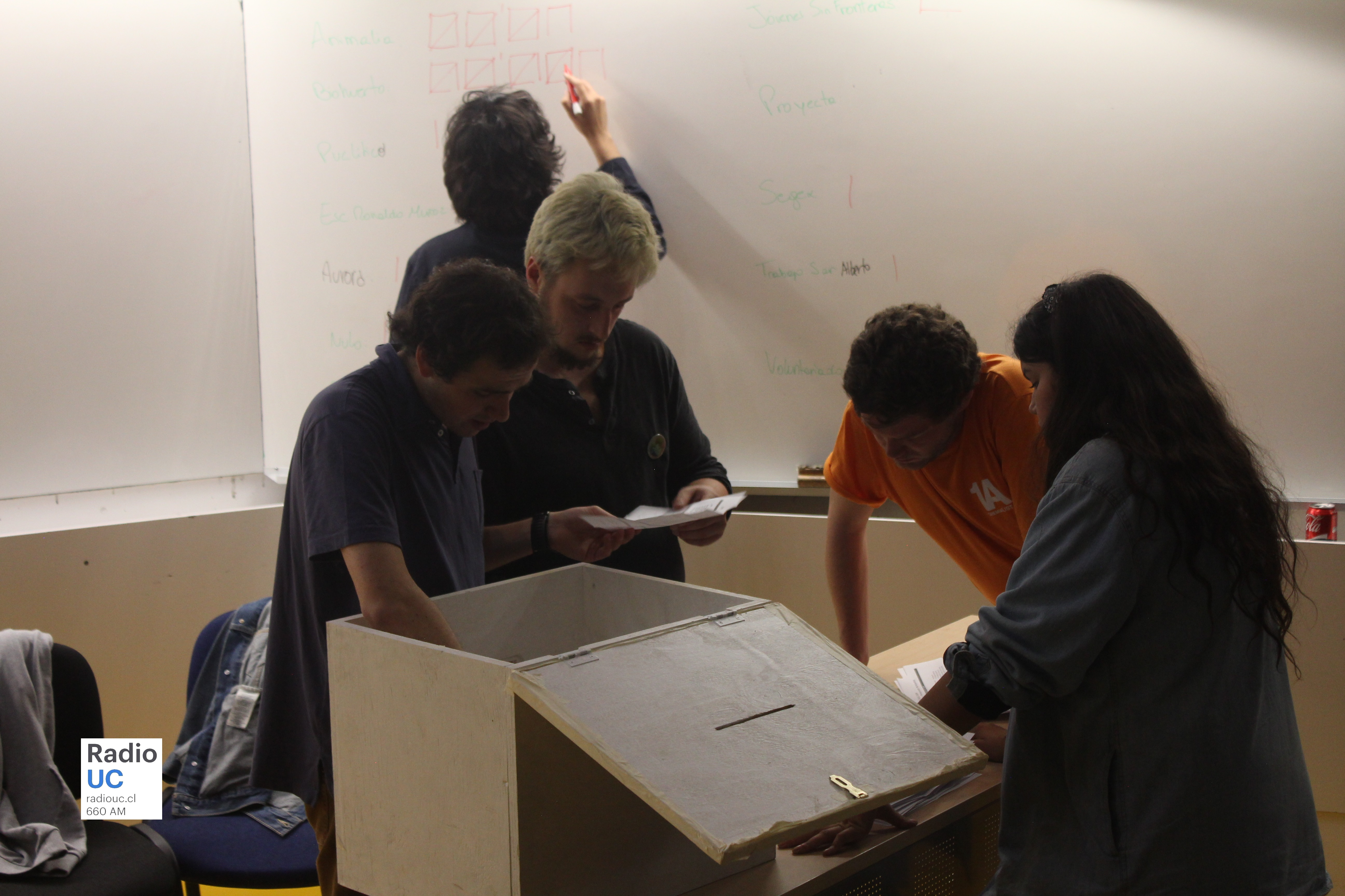 NAU y SDD optimistas a la mitad del conteo de votos