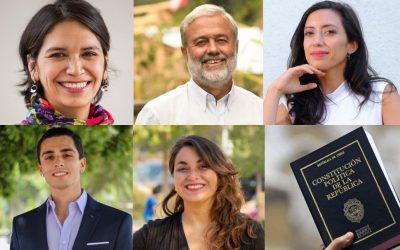 Cinco constituyentes explican sus ideas para garantizar el «bienestar» de las personas en la Constitución
