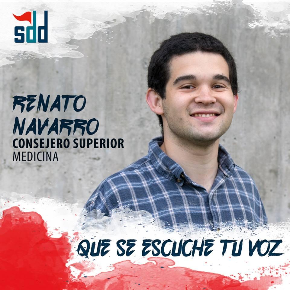 Consejería Superior: Renato Navarro, por Solidaridad