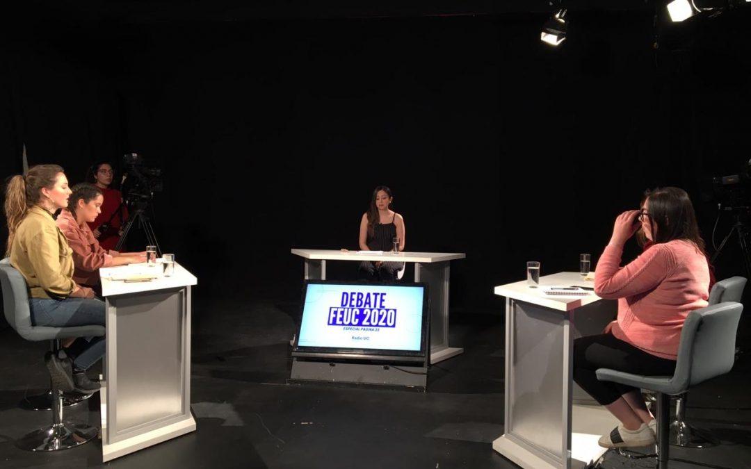 ELECCIONES FEUC 2020: sigue el debate de los candidatos en vivo