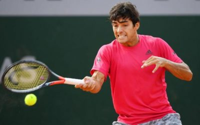 Por primera vez en su carrera Cristian Garín llega a tercera ronda en un Grand Slam