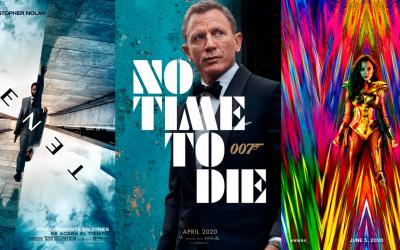 Tenet, Bond y Wonder Woman 1984 con nuevas fechas de estreno