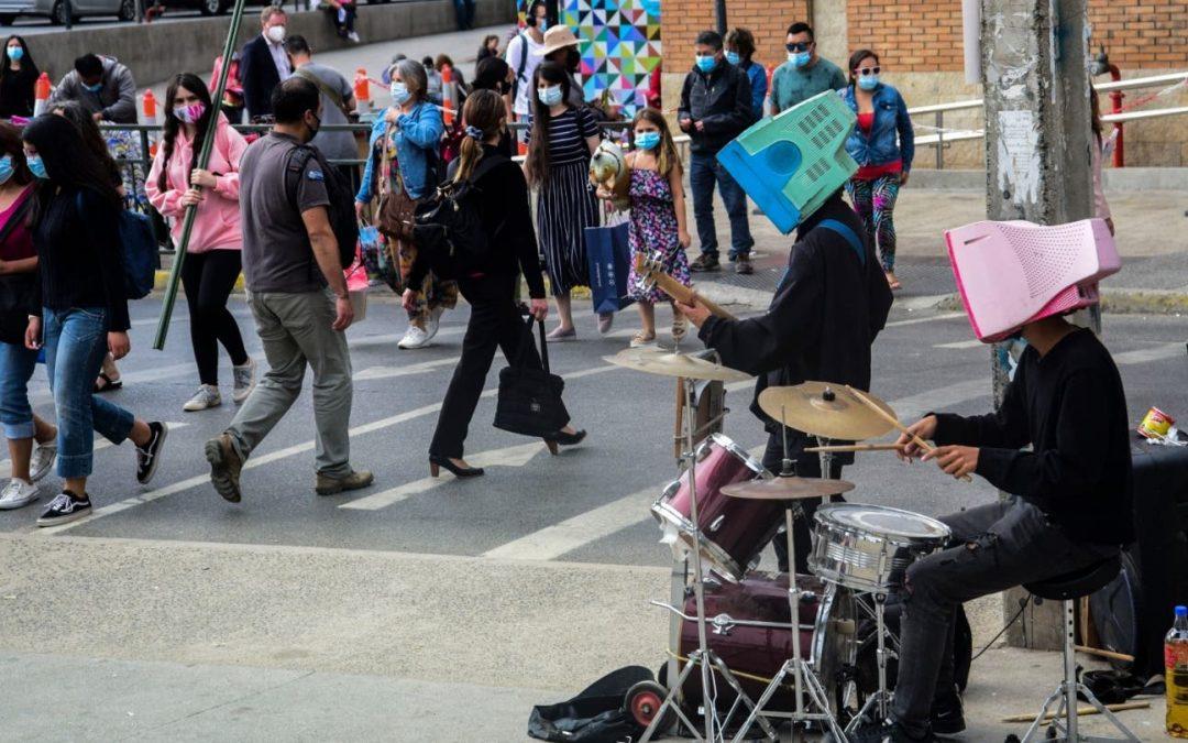 ¿Qué pasó con los cantantes callejeros en pandemia?