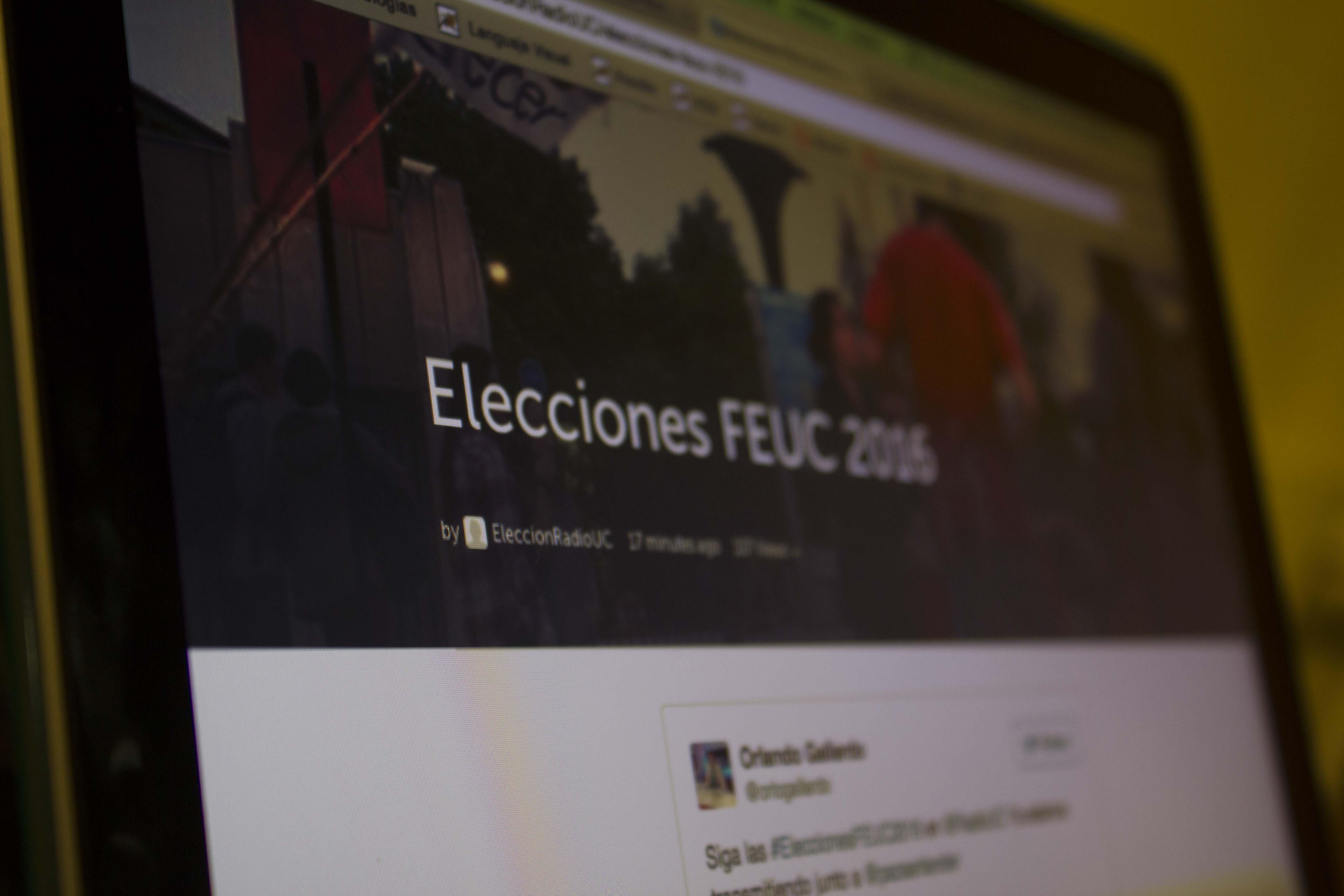 Minuto a minuto de la segunda vuelta de Elecciones FEUC 2016