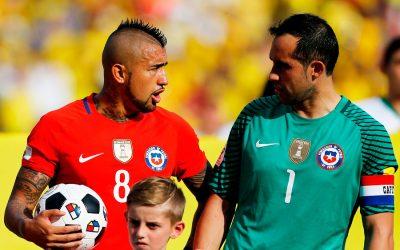 Claudio Bravo vuelve a La Roja y el equipo se reúne para jugar ante Colombia